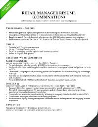 Sample Nurse Manager Resume Assistant Retail Combination Samples