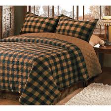 Image Of Lodge Themed Bedding