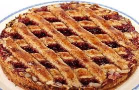 fotos und bilder kuchen torten linzer torte marmelade