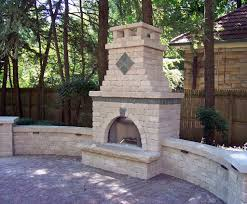 Building an Brick Outdoor Fireplace To her