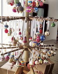 Vintage Ornament Tree Via Countryliving