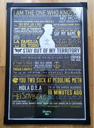 My Sister Got Me New Favourite Breaking Bad Poster For Christmas