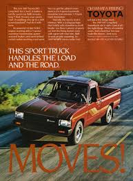 Toyota Trucks - Advertisement Gallery 1982 Toyota Dyna Heavy Truck Blueprints Free Outlines 44toyota Trucks 2009 August Used Car Pickup Honduras Toyota 22r Hilux Previously Snapped In 2012 Its Looking Flickr Clean Truck Call Us For Your Vingetoyota For Sale Toyota Pickup Long Bed 4x4 3500 Obo Ih8mud Forum Cars Of A Lifetime 44 How The Japanese Do Sr5 Sport 2wd Rn34 198283 Curbside Classic When Compact Pickups Roamed Land Cruiser Fj43 A Day New Arrivals At Jims Parts 1990 4runner File1982 Hilux Rn41r 2door Utility 200917jpg
