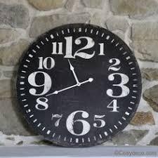 horloge de cuisine horloge de cuisine rétro chic comptoir de famille signs of the