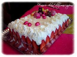 dessert avec creme fouettee fraisier chantilly mascarpone rapide et facile la cuisine