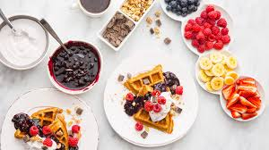 Protein Waffle Bar   Waffle Bar, Waffles And Protein Waffles How To Throw A Waffle Party Wholefully Protein Bar Bar Waffles And Waffles A Very Merry Holiday Citrus Punch Recipe Make Waffle Sweetphi Cake Mix Plus Planning Tips Mom Loves Baking The Best Toppings From Savory Sweet Taste Of Home Eggo Truckinspired Pbj Styleanthropy 6 The Best Toppings Recipe Food To Love Bridal Shower With Chinet Cut Crystal Giveaway Hvala Matcha Softserveice Blended Latte Frappe At Southern Gentleman Baby
