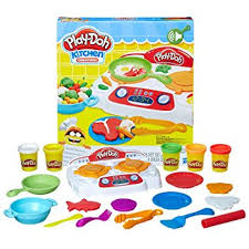 Buy Play Doh Kitchen Creations Sizzlin Stovetop Multi Color