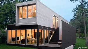 100 Container Shipping Houses Almost Luxury Shipping Container Homes Youtube Intended For