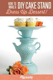 How to Make a Cake Stand DIY Projects Craft Ideas & How To s for