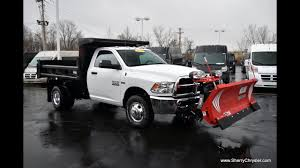 100 Truck With Snow Plow For Sale 2017 Ram 3500 Western Dump Dayton Troy Piqua Sidney Ohio 27880T