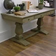 Furniture Sliders For Hardwood Floors Home Depot by Home Decorators Collection Aldridge Antique Grey Desk With