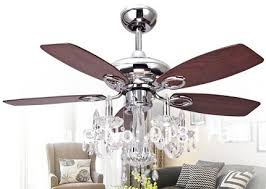 Shabby Chic Ceiling Fan Light Kit by Dining Room Cortana Ceiling Fan Light Kit With Chandelier Crystal