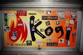 100 Kogi Truck Menu SaMos Food Lot Back Changes More Eater LA