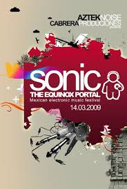 Electronic Music Event Poster