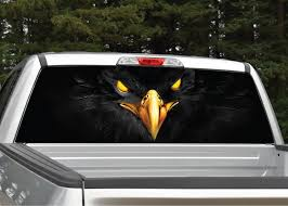 Black Eagle Rear Window Graphic | Miller Graphics How To Install American Flag Truck Back Window Decal Sticker Truck Rear Window Black White Distressed Vinyl Design Your Own Rear Graphics Arts Window Graphic Vehicle Decals Compare Prices At Nextag Toyota Tacoma 2016 Importequipment Tropical Paradise Wrap Tailgate Kit Ebay New York Jets 35 X 4 Windshield Decal Car Nfl Custom Logo Maker Many Is Too True North Show Off Stickers Page 50 Ford F150 Forum Your Rear Stickerdecal 2015present Trucks 5 Funny Cummins Trucks