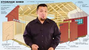 10x16 Shed Floor Plans by 10x16 Shed Plans Youtube