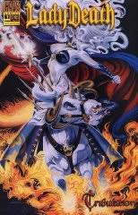 LADY DEATH TRIBULATION 1 4 COMPLETE STORY 2000 CHAOS