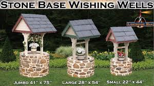 decorative ornamental garden wishing wells
