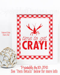 Cajun Crawfish Boil Decorations by Crawfish Boil Decorations Time To Get Cray Crawfish Boil