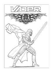 Coloring Page Star Wars Darth Vader