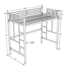 Loft Beds Walmart by 184 Best Loft Beds Images On Pinterest Decoration In Metal Loft