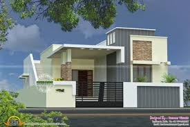 Modern House Fronts by Stylish Single Floor House Modern House House Front Elevation