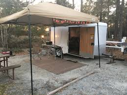 Camp Set Up With The Cargo Trailer Conversion -Watch Free Latest ... 85x34 Tta3 Trailer Black Ccession Awning Electrical Photos Of Customized Vending Trailers From Car Mate Intro To My 6x10 Enclosed Cversion Project Youtube 2017 Highland Ridge Rv Open Range Light 308bhs Travel Add An Awning Without A Rail Hplittvintagetrailercom2012 9 Best Camping Life Images On Pinterest Camping Retractable Haing A Vintage By Glamper Homemade Cargo Little X Red Awningscreenroom Combo Details For Flagstaff Tseries Our Diy 6x10 Cargo Trailer Cversion Kitchen Alinum Vdc Platinum Series Rnr