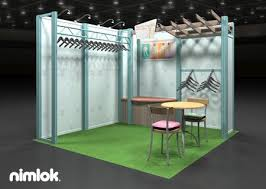 The 1155 Best Trade Show Exhibits Images On Pinterest Concerning Clothing Display Racks For Shows Remodel