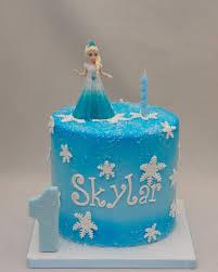 Frozen Elsa Birthday Cake Cake in Cup NY