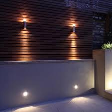 stunning outside garden wall lights pasarelas de madera tropical i