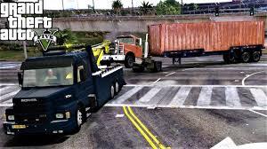 100 Semi Tow Truck GTA 5 Real Life Mod 102 Heavy Duty Wrecker S Old