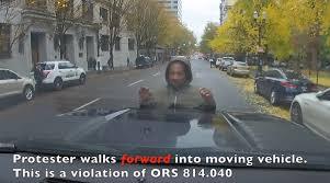 100 La Riots Truck Driver Video Claims Protestors Are To Blame In Collision With Truck Driver