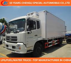 China Dongfeng 32cbm Refrigerator Van Truck 32cbm Freezer Truck 4X2 ...
