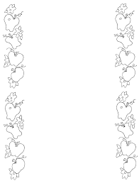 Apple Borders And Frames Clipart