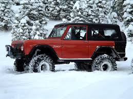 100 Best Trucks For Snow Is A Broncos Best Friend My Collection Of Early Bronco
