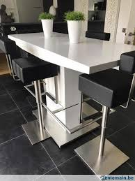 table bar laquée blanche a vendre 2ememain be