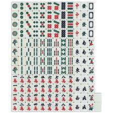 Chinese Mahjong Set of 146 Standard Size 32 Tiles