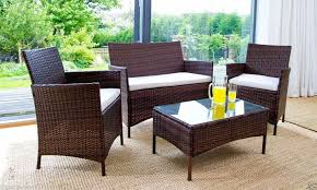 chic rattan outdoor chairs use rattan outdoor furniture for your