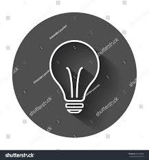 halogen lightbulb icon light bulb sign stock vector 647406958