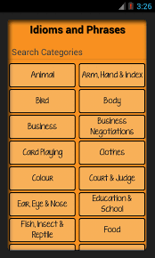 Idioms & Phrases with Meaning Android Apps on Google Play
