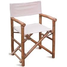 chaise de jardin en bambou coloris chêne dim h 85 x l 61 p 59