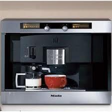 Miele Built In Coffee System Expresses A Unique Combination