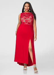 front slit special occasion dress plus size dresses ashley stewart