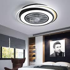 modern deckenventilator mit beleuchtung und fernbedienung