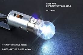 1156 led auto bulb cree xp e bright cool white led