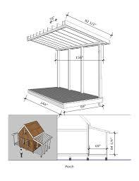 Shed Plans 8x12 With Porch by Prospector U0027s Cabin 12 U0027x12 U2032
