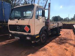 Mercedes 1214 With Dropside,8 Ton Truck | Junk Mail