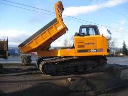 Heavy Equipment For Rent Oregon | Komatsu - CD60R - KOMATSU TRACK ...