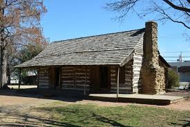 Log Cabin In Downtown Grapevine Picture of Grapevine Historic