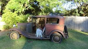 Just Picked Up My Next Rat Rod Project! 31 Chevy 2 Door Sedan! : RatRod